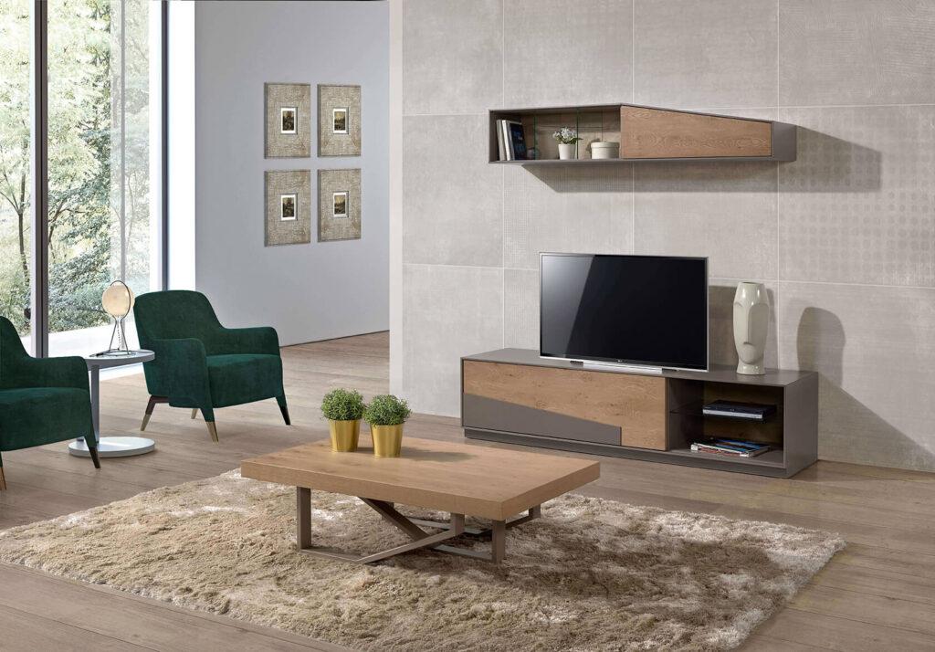 Móvel de tv com estante