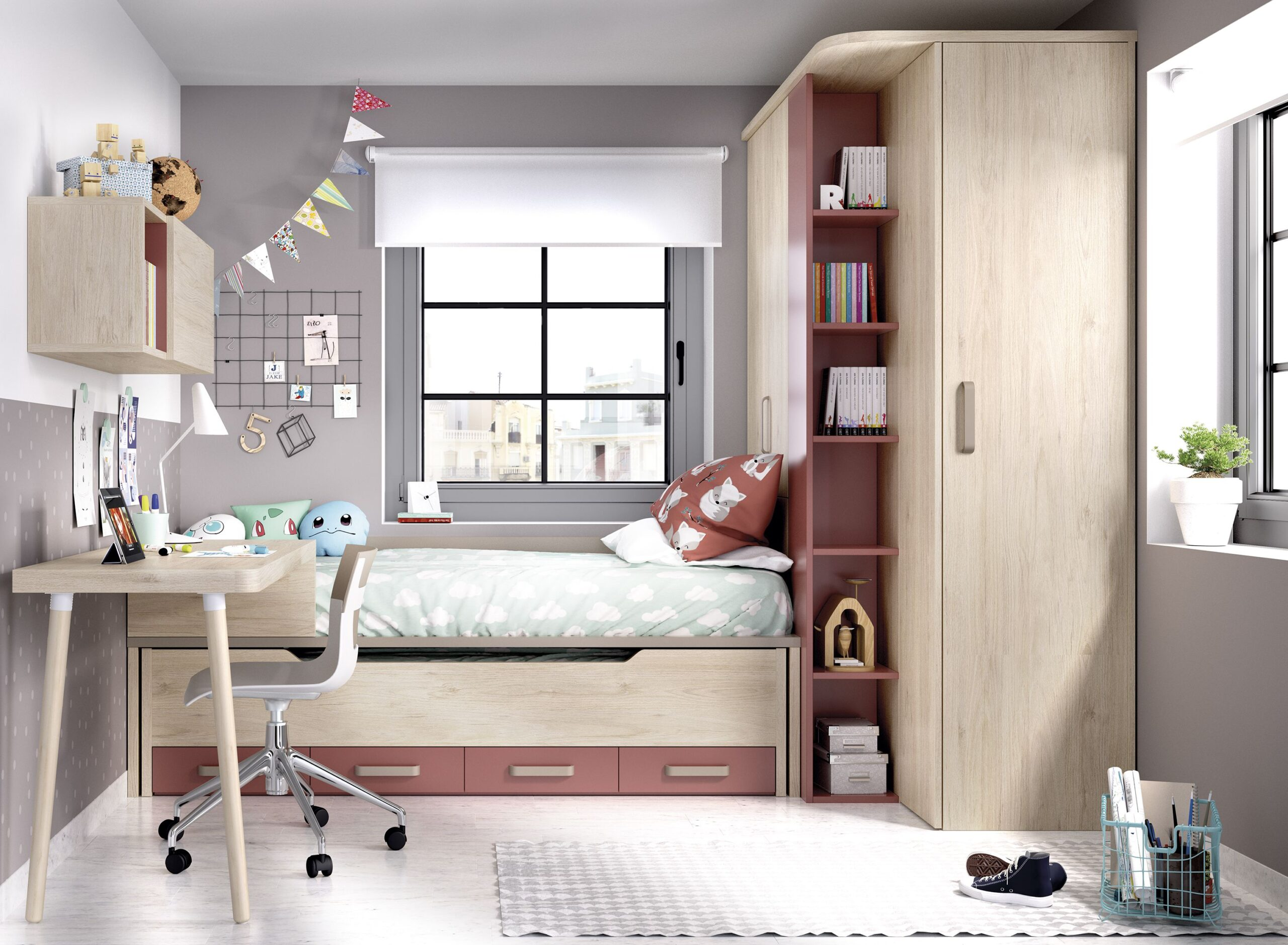 Mobiliário de quarto para criança