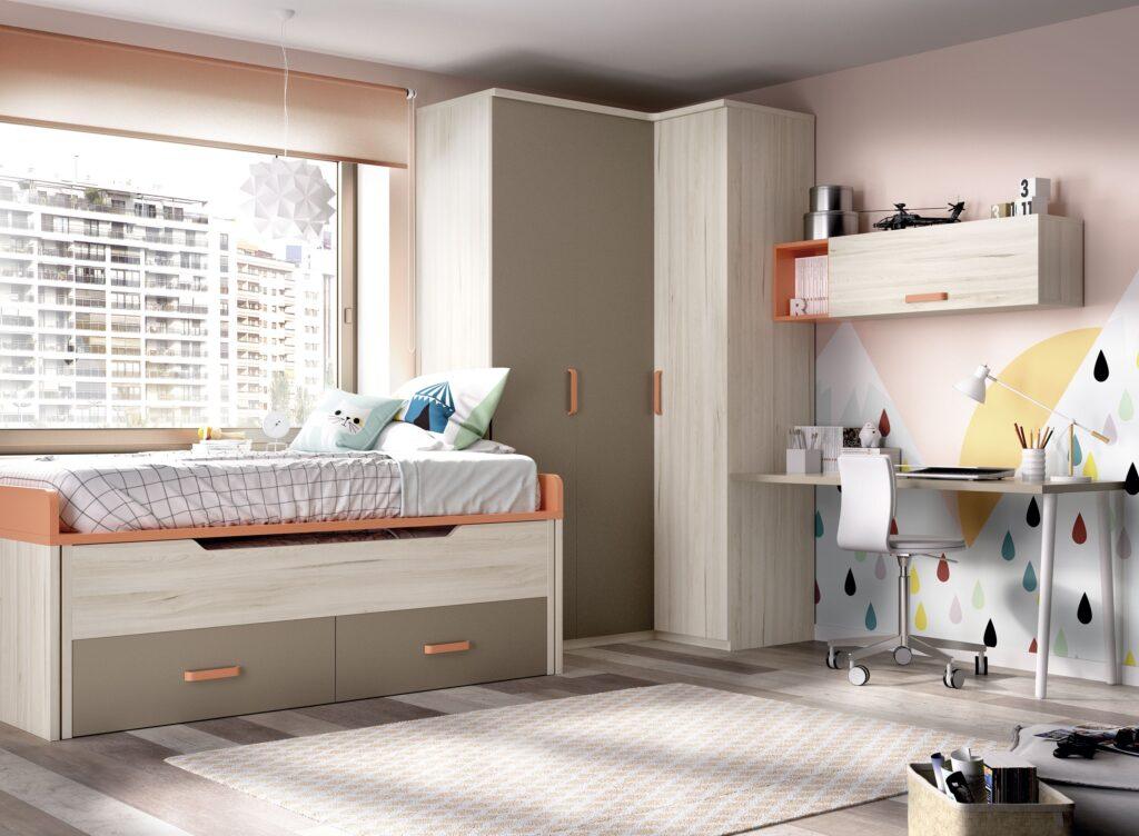 Mobiliário de quarto juvenil